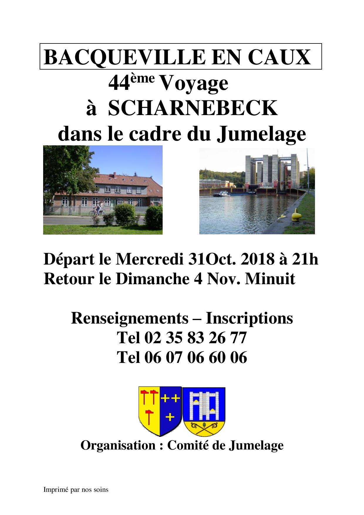 Voyage du jumelage à Scharnebeck