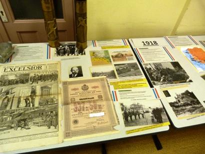EXPOSITION SUR LA GUERRE 1914/1918