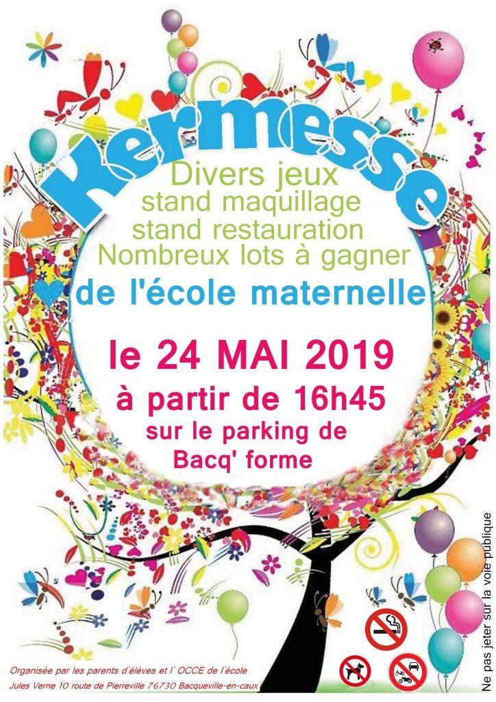 KERMESSE DE L'ECOLE MATERNELLE @ Parking Bacq Forme