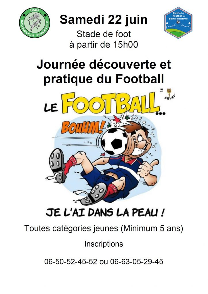 JOURNEE DECOUVERTE DU FOOTBALL @ Stade de Foot