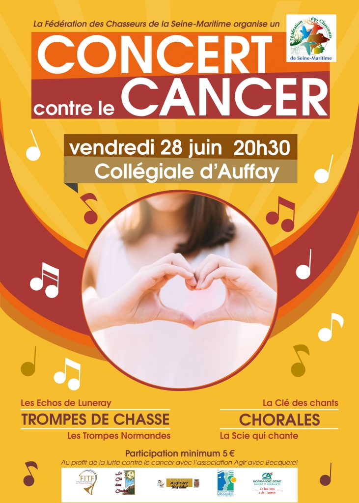 CONCERT  CONTRE LE CANCER @ Collégiale d'Auffay