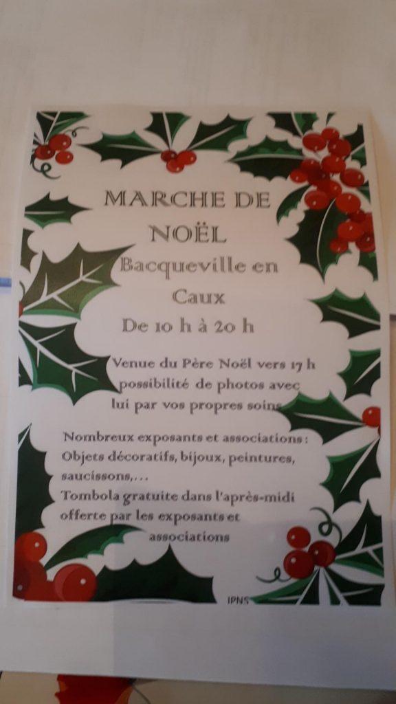 MARCHE DE NOEL @ Salle des fêtes deBacqueville