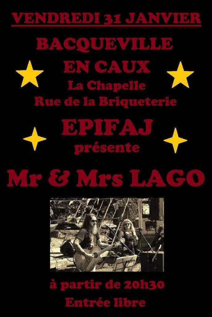 CONCERT DE M et MME LAGO @ CHAPELLE DE L'EPIFAJ